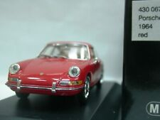 WOW EXTREMELY RARE Porsche 911 1964 Coupe Red 1:43 Minichamps-356-930-Spark