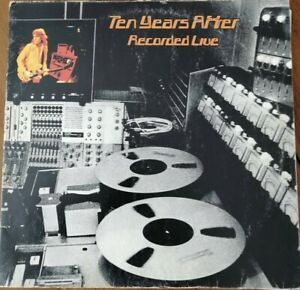 TEN YEARS AFTER - RECORDED LIVE DOUBLE LP 33T CHRYSALIS 6641 146