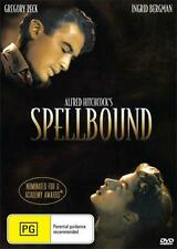 SPELLBOUND - ALFRED HITCHCOCK - GREGORY PECK - NEW & SEALED DVD AUSSIE RELEASE!