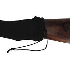 """UK SELLER 52"""" GUN SOCK SILICONE TREATED SHOTGUN RIFLE SHOOTING BLACK SLIP CASE"""
