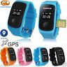 Monitor Children GPS Tracking Device SIM Smart Watch Safety Tracker Kids Gift