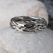 Markenlose Ringe ohne Steine aus echtem Edelmetall 56 (7 mm Ø)