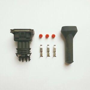 1 x 3 Pin EV1 Plug Kit to fit various sensors and injectors on BMW VW Audi