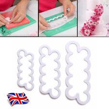 Carnation Flower Petal Cake Cutter Fondant Icing Decorate Mould Tool Sugarcraft