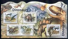 Solomon Islands - 2012 MNH minature sheet # 1166 Dinosaurs - Lot # 83