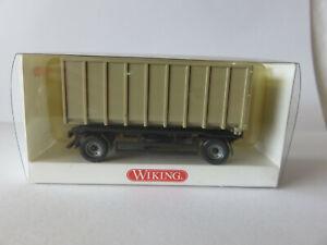 Wiking Modelle, Anhänger für Abrollkipper, Meiller, Wiking-Nr. 665 02 21
