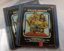 Vintage CED Video Disk Kelly's Heroes 2-disk Set 04761610168