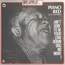 PIANO RED Live At Montreux Blues Legacy 7 FR Press Blues Legacy 512507 1974 LP