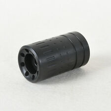 Steel Black Muzzle Brake 1/2x28 + 13/16-16 threaded Sound Sleeve  for .223