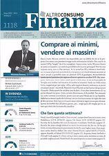 2015 03 24 - FINANZA  ALTROCONSUMO - 24 03 2015 - N.1118 - COMPRARE AI MINIMI, V