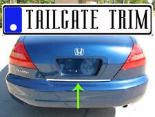 Honda ACCORD Coupe 2003 04 05 06 07 08-12 Chrome Tailgate Trunk Trim Molding
