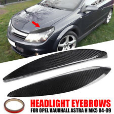 RACE DESIGN HEADLIGHT BROWS EYELIDS EYEBROWS FOR THE VAUXHALL OPEL GT 2007-2009