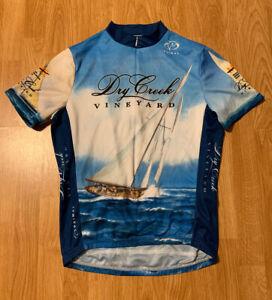 Primal Dry Creek Vineyard Cycling Jersey Size Men's Medium
