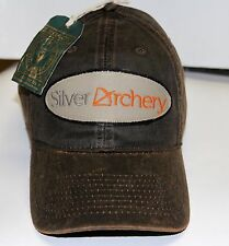 SILVER ARCHERY BASEBALL CAP- WAXED COTTON