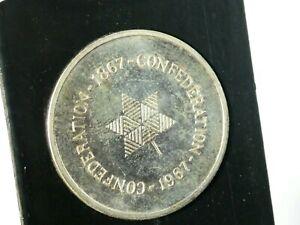 1967 Canada Confederation Centennial Commemorative Medal / Coin in Case