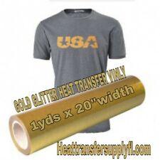 GOLD HEAT TRANSFER VINLY (PVC )