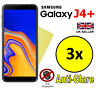 3x HQ MATTE ANTI GLARE SCREEN PROTECTOR COVER GUARD FOR SAMSUNG GALAXY J4 PLUS