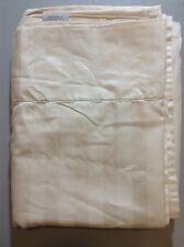 Charter Club Stripe FLAT sheet Ivory TWIN EXTRA LONG