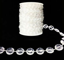 400/600/900 FT Garland Diamond Strand Acrylic Crystal Beaded Wedding Decoration