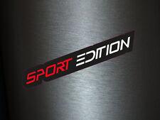 1 x Aufkleber Sport Edition Sticker Tuning Autoaufkleber Shocker OEM JDM Fun Gag