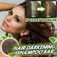 Natural Hair Darkening Shampoo Bar Organic Conditioner and Repair Unisex HOT