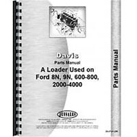 New  Parts Manual Fits Ford 9N Loader Attachment