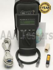 Fluke Networks 620 Lan Cable Meter Cat5 Ethernet Coaxial Tester