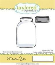 Taylored Expressions Rubber Stamp Set Mason Jar