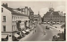 """*Sweden Postcard-""""Scenic View...Denmark... (PM 1953 w/Foreign Stamp)"""