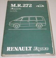 Werkstatthandbuch Renault Espace I J 11 Karosserie Stand Februar 1988!