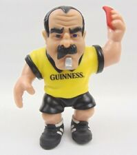 Guinness Novelty Rugby referee  Stretch stress Figure 5 1/2 inch tall  old stock