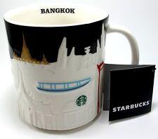 New Thailand Starbucks BANGKOK CITY Relief Global Icon Mug Series Collector