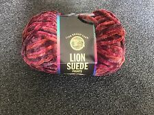 1 Skein Lion Suede  (Orchard) 3oz 122yds Each 100% Polyester