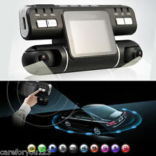 "360° Full HD 1080P Dual Lens 2"" Car DVR Camera Video Recorder Dash Cam G-sensor"