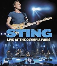 Sting Live At The Olympia Paris [Bluray] [2017] [DVD]