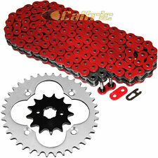 Red O-Ring Drive Chain & Sprockets Kit Fits HONDA TRX250R TRX250X 1987-1992