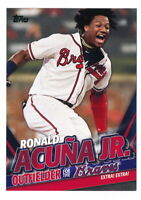 RONALD ACUNA JR. 2020 TOPPS UPDATE TARGET EXCLUSIVE HIGHLIGHTS #TRA-3 BRAVES