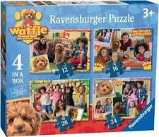 Ravensburger WAFFLE THE WONDER DOG 4 IN A BOX JIGSAW PUZZLES Toys Games - BN