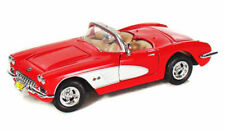 1959 Chevy Corvette Convertible Red Motormax 73216 1/24 Scale Diecast Car