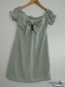 Urban Outfitters Narrated mintfarbenes Kleid für Feste, Gr. XS