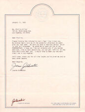 JOANNE GOLDWATER - TYPED LETTER SIGNED 01/11/1993