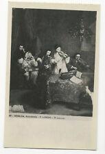 P. Longhi - Il concerto - Accademia, Venezia/Venice - Art Postcard
