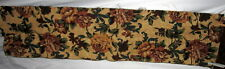 Flowers - Yellow Roses Tapestry Table Runner Fabric Piece