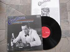 CASABLANC HUMPHREY BOGART OST LP  + INSERT