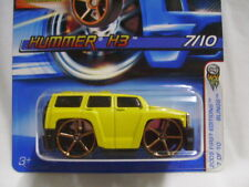 Faster Than Ever Hot Wheels HUMMER H3 - 2005 First Edition (collector #37) MOMC