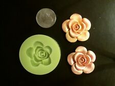Silicone Mold Flower Rose Candle, wax, gypsum, resin, glue, soap,clay, concrete