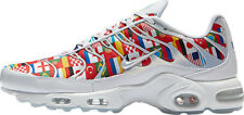 Nike Air Max Plus NIC size 6.5 Mens. White Multi World Cup Flag Pack AO5117-100.