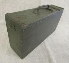 Imperial German WWI MG 08 Wood Box.