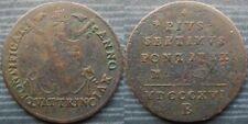 """* VATICAN  Quattrino 1816 """" B """" - Pius VII"""