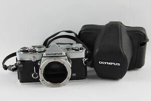 Olympus OM-1 MD SLR FILM CAMERA Body Only w/ Original Case WORKING